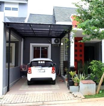 20 contoh garasi mobil minimalis modern keren rumah impian