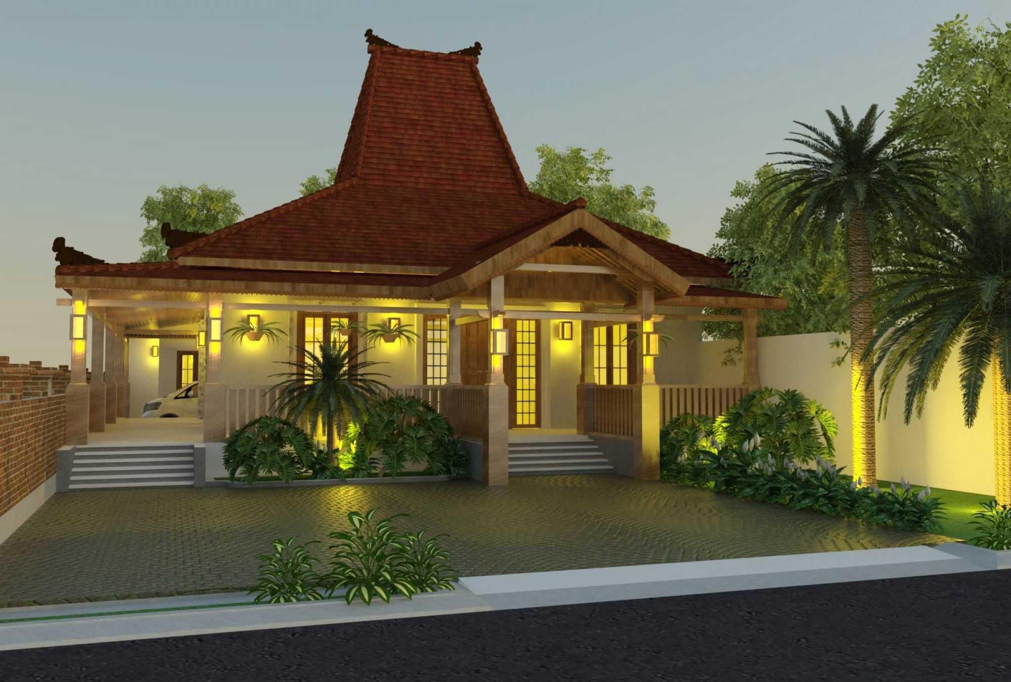 8 Desain Rumah Etnik Jawa Modern RUMAH IMPIAN
