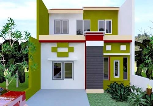 Kombinasi Warna Cat Rumah Hijau Tua  26 gaya terbaru warna cat rumah nuansa hijau cat rumah