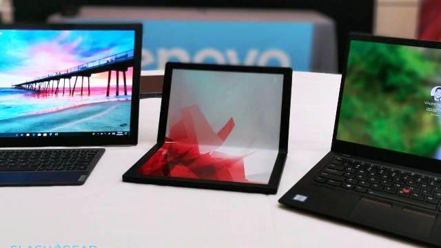 Lenovo akan Jual Laptop Layar Lipat Pertama di Dunia ?