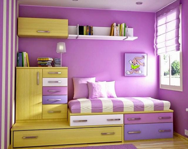 Warna Cat Bilik Tidur Anak Perempuan Desainrumahid