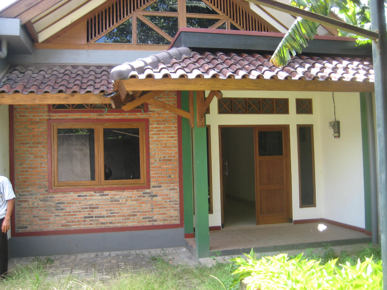 Rumah Bata Merah Dan Kayu Rumah Joglo Limasan Work