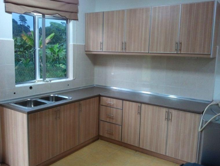 Contoh Kabinet Dapur Kecil Desainrumahid Com