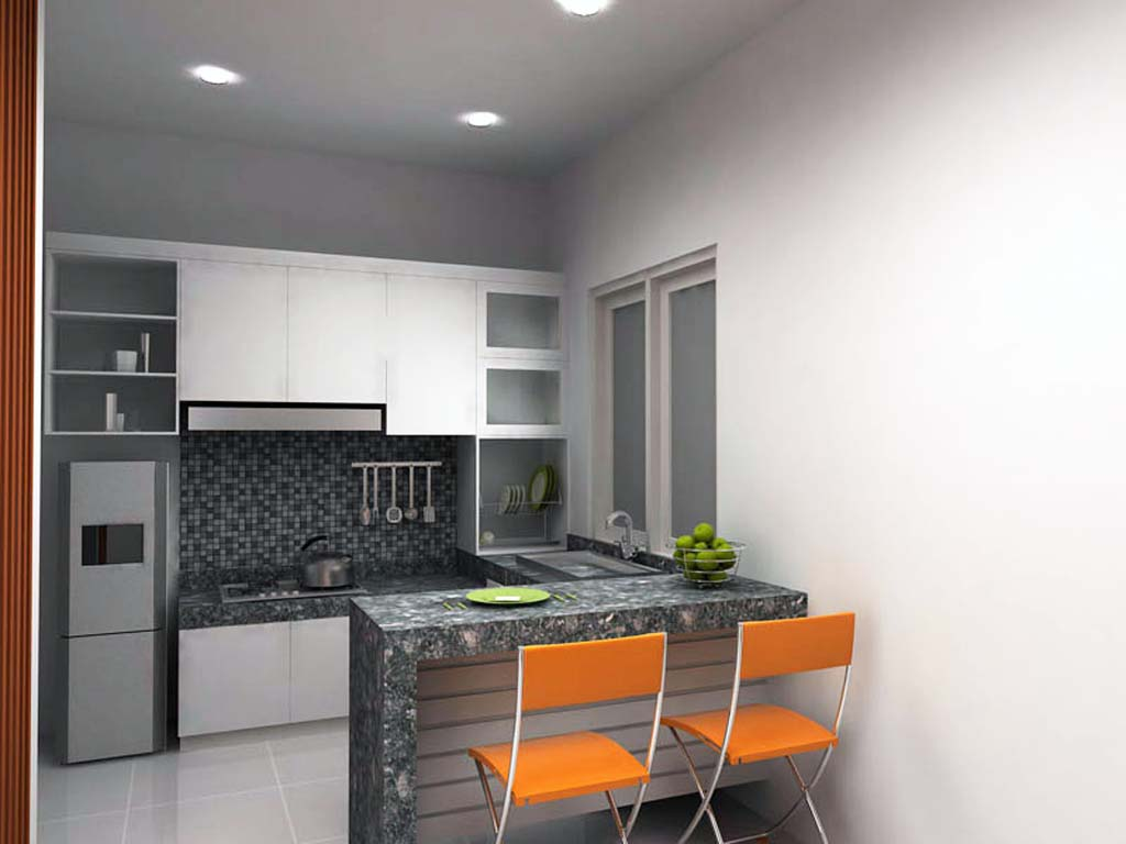 Desain Dapur Sederhana Minimalis