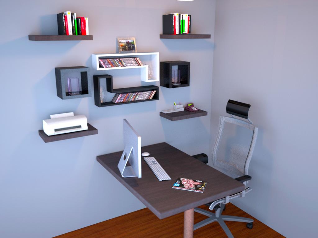 Desain Ruang Kerja Minimalis 3