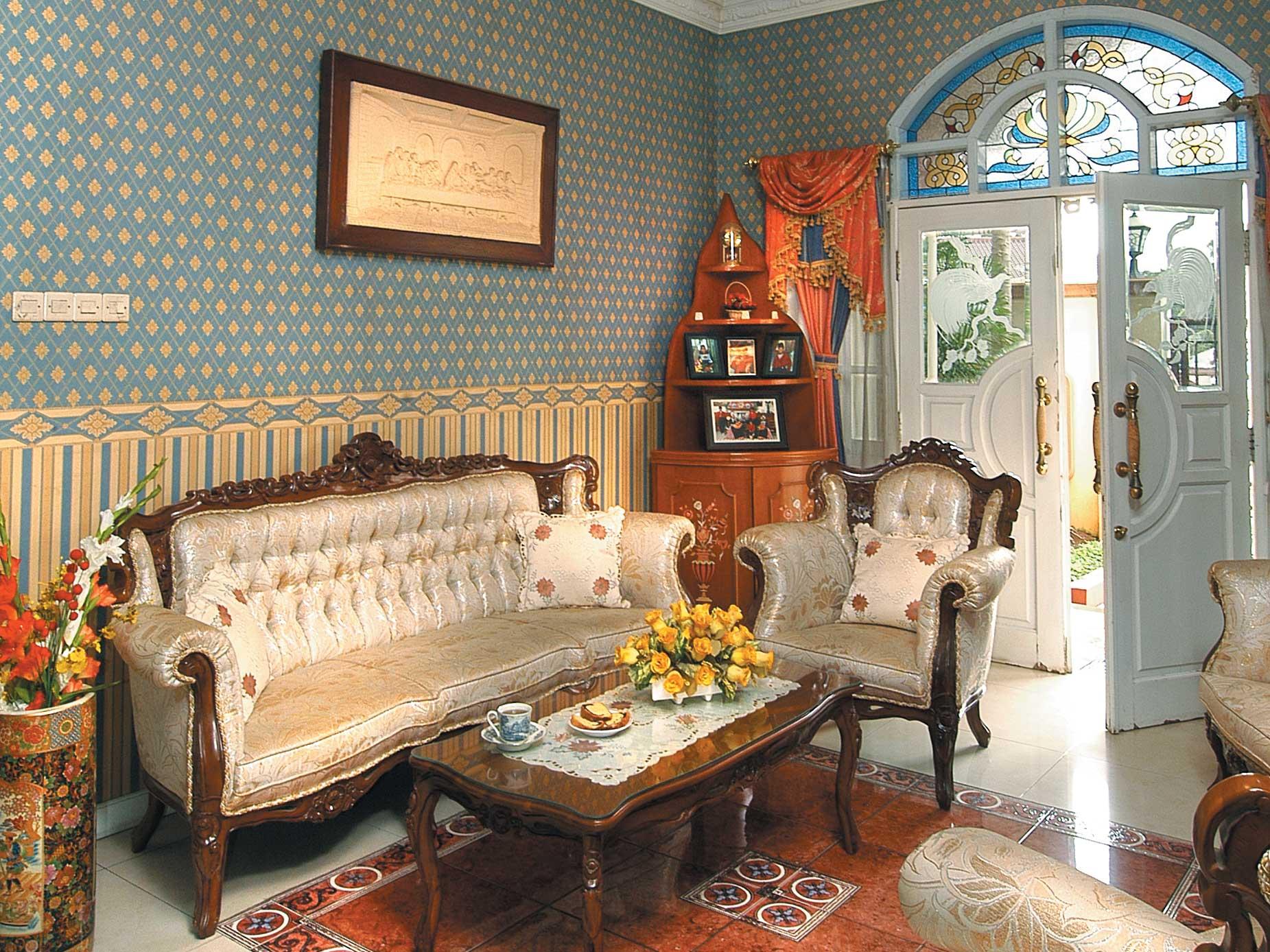 Ruang Tamu Klasik3