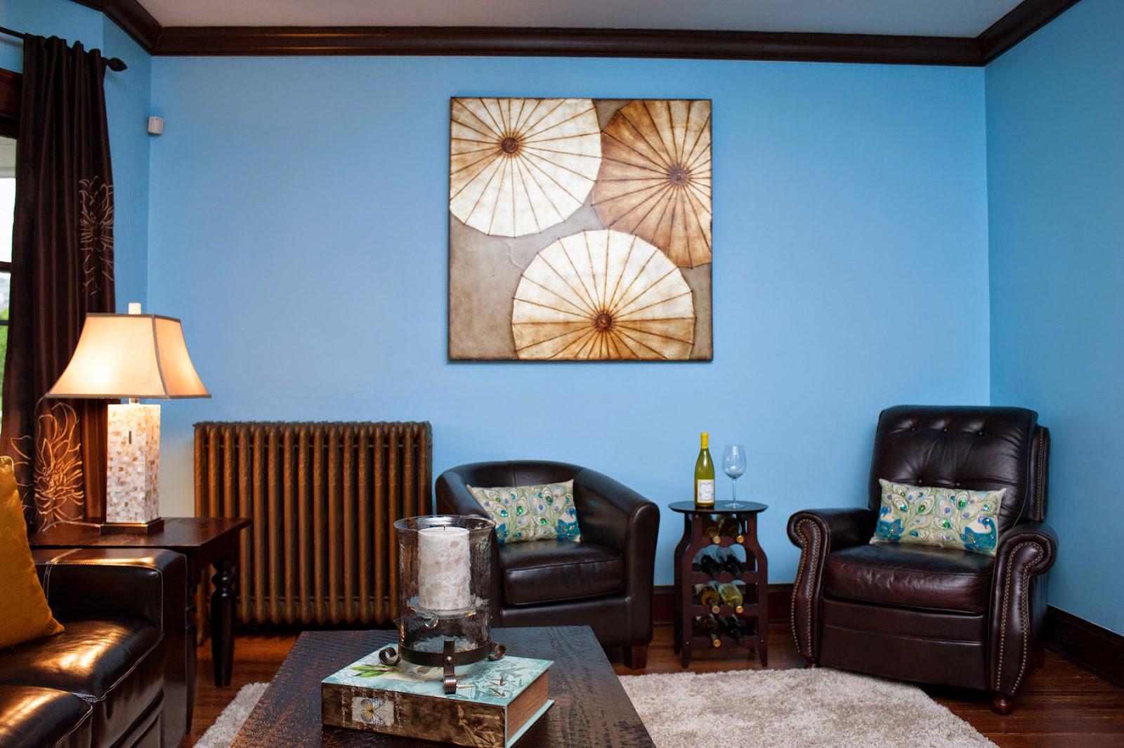 20 món đồ trang trí phòng khách với màu xanh nhạt DREAM HOME