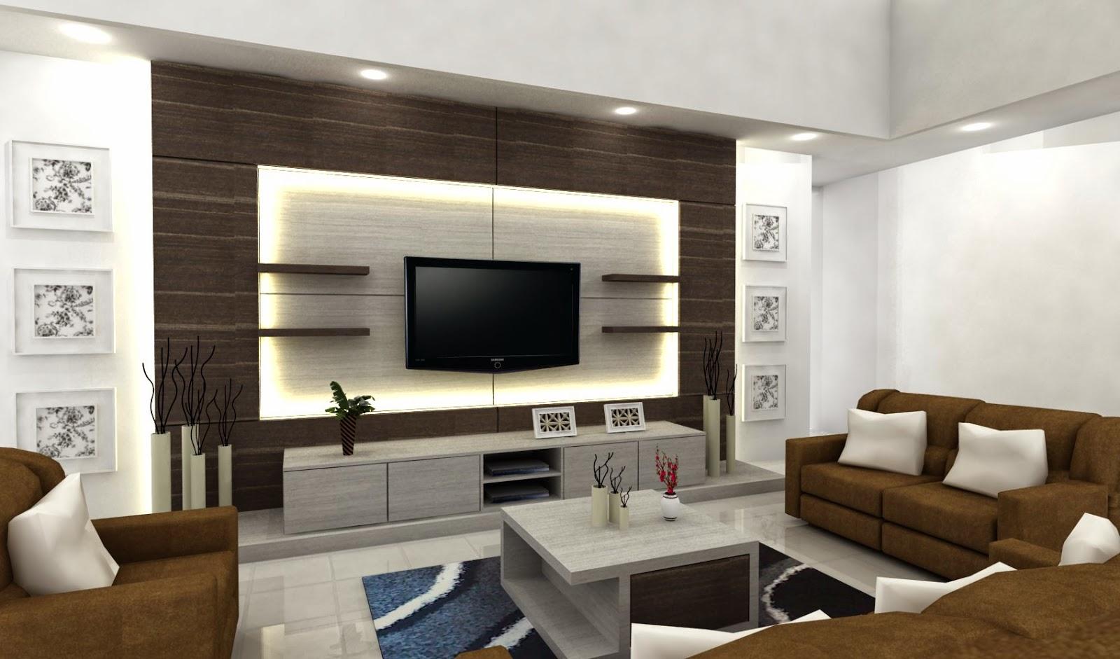 desain dekorasi ruang tv minimalis